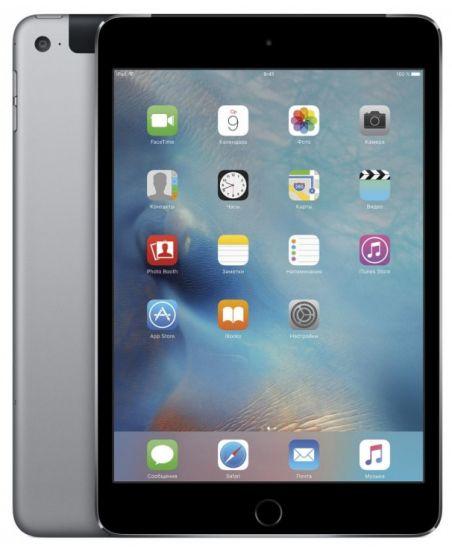 Apple iPad mini 4 Wi-Fi + Cellular 128GB (серый)