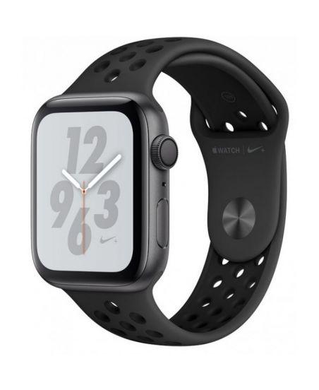Apple Watch Nike+ Series 4 40 мм, корпус из алюминия цвета серый космос, спортивный ремешок Nike цвета антрацитовый/черный