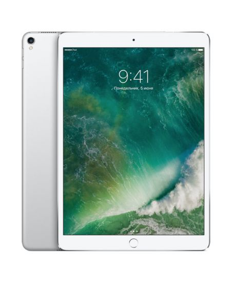"Apple iPad Pro 10,5"" Wi-Fi + Cellular 64 ГБ, серебристый"