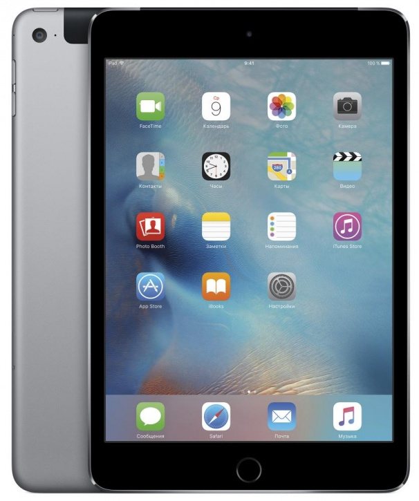 Apple iPad mini 4 Wi-Fi + Cellular 128GB (серый)